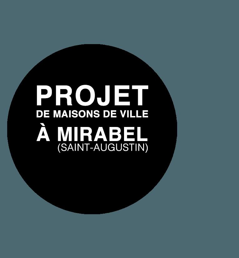 Projet de maisons de ville à Mirabel